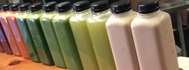 Cold pressed juices and Smoothies